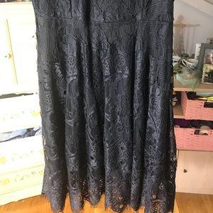 Dresses - NEW Black Lace Formal Dress w/ tags
